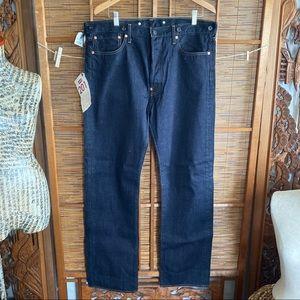 Levi's LVC 201 cinched back one pocket Japan jeans